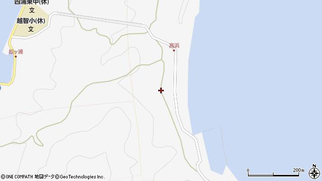 大分県津久見市四浦6187周辺の地図