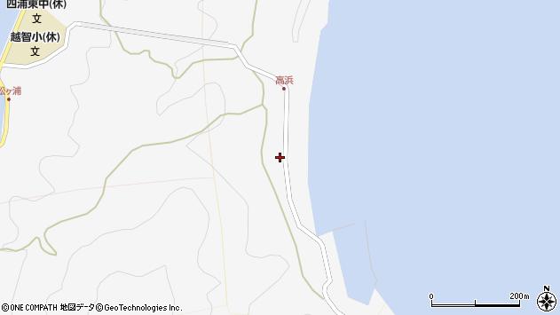 大分県津久見市四浦6185周辺の地図