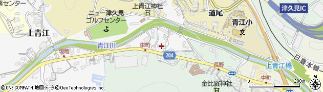大分県津久見市上青江4943周辺の地図