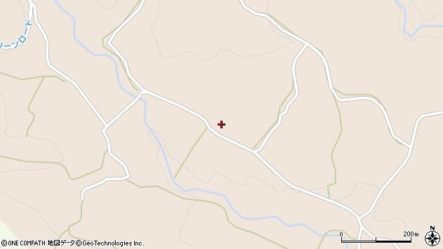 大分県竹田市直入町大字長湯5660周辺の地図
