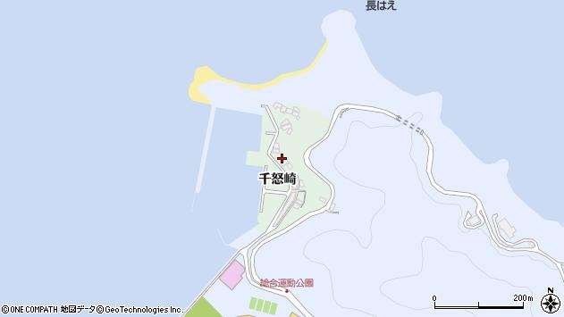 大分県津久見市千怒4891周辺の地図