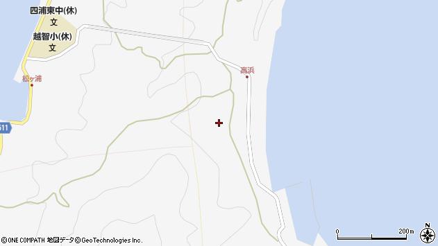 大分県津久見市四浦6183周辺の地図