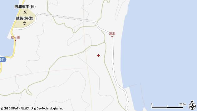 大分県津久見市四浦6286周辺の地図
