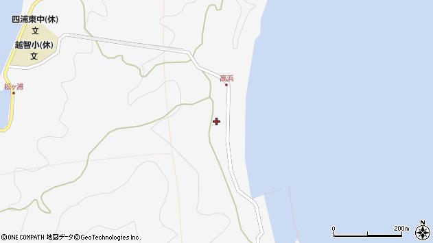 大分県津久見市四浦6203周辺の地図