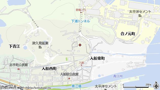 大分県津久見市入船西町21周辺の地図