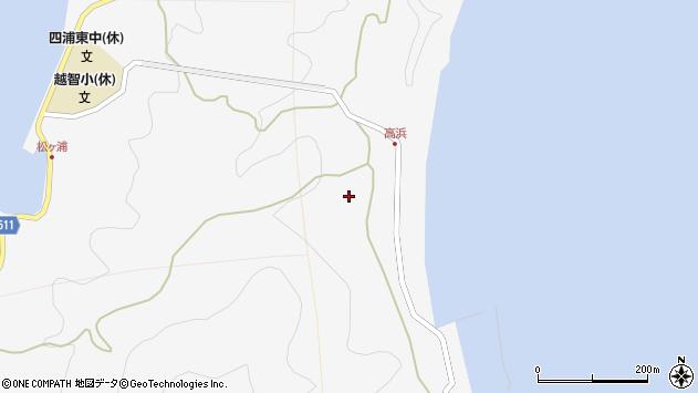大分県津久見市四浦6264周辺の地図