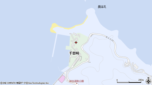 大分県津久見市千怒4897周辺の地図