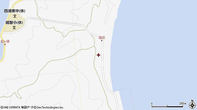 大分県津久見市四浦6265周辺の地図