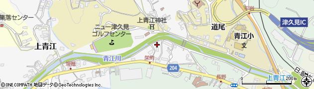 大分県津久見市上青江4935周辺の地図