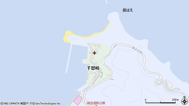 大分県津久見市千怒4899周辺の地図