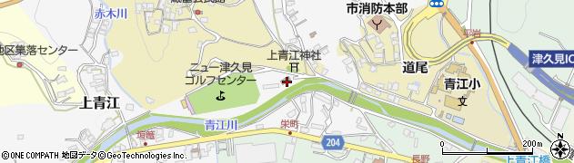 大分県津久見市上青江3085周辺の地図
