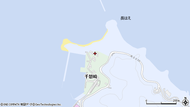 大分県津久見市千怒4961周辺の地図