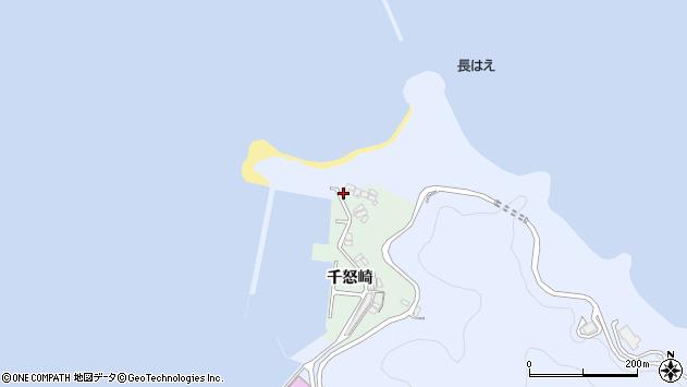 大分県津久見市千怒4967周辺の地図