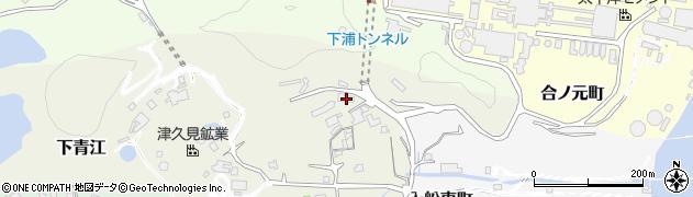 大分県津久見市下青江3891周辺の地図