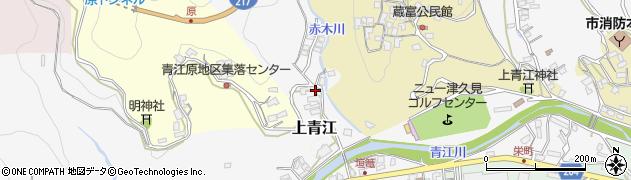 大分県津久見市上青江2462周辺の地図
