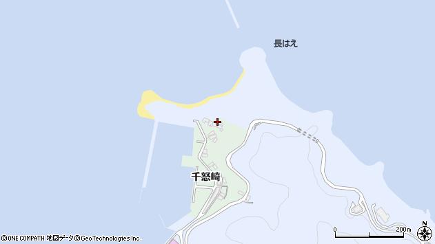 大分県津久見市千怒4963周辺の地図