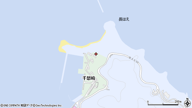 大分県津久見市千怒4962周辺の地図