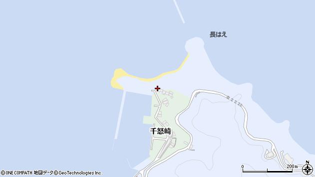 大分県津久見市千怒4968周辺の地図