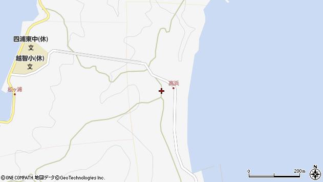 大分県津久見市四浦6384周辺の地図