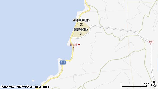 大分県津久見市四浦5820周辺の地図