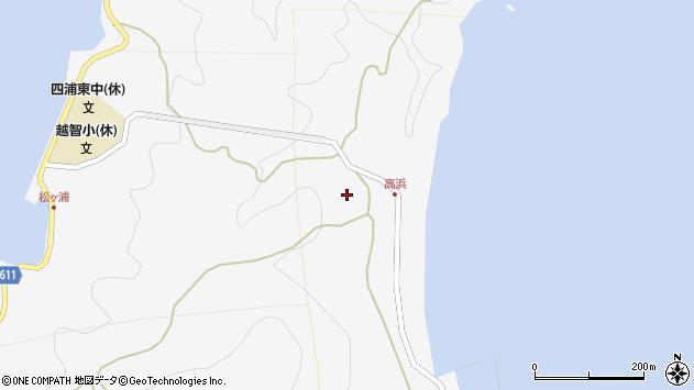 大分県津久見市四浦6024周辺の地図
