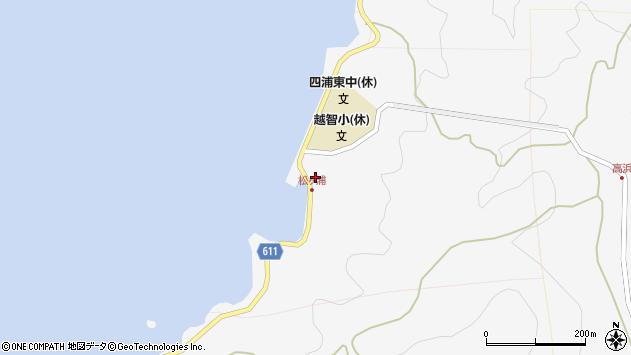 大分県津久見市四浦5809周辺の地図