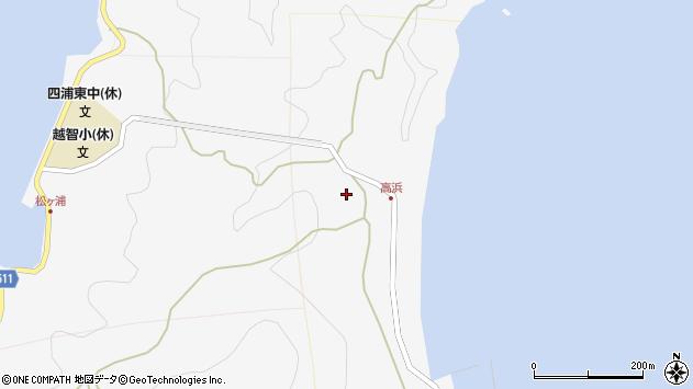 大分県津久見市四浦6023周辺の地図