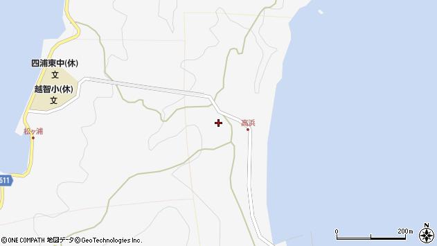 大分県津久見市四浦6022周辺の地図