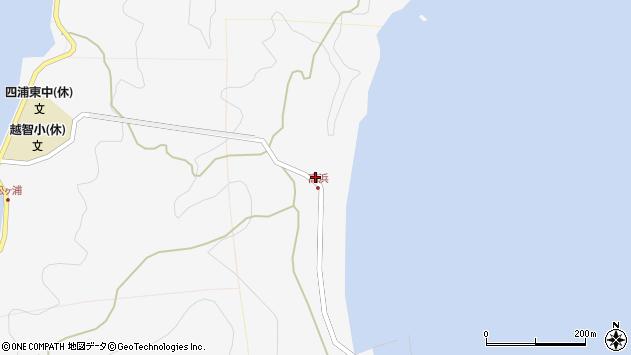 大分県津久見市四浦6261周辺の地図