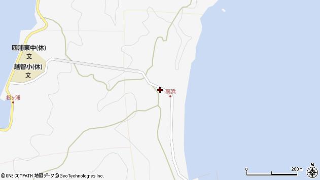 大分県津久見市四浦6323周辺の地図
