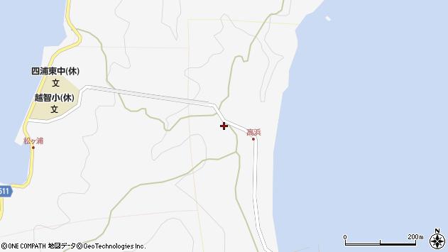 大分県津久見市四浦6329周辺の地図