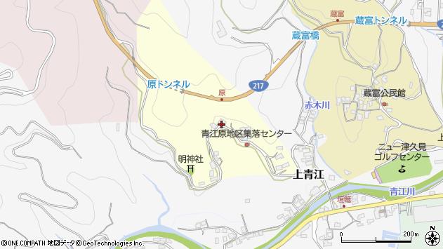 大分県津久見市上青江1936周辺の地図