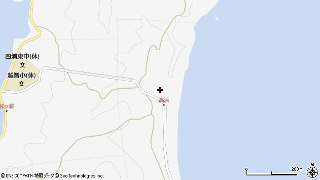 大分県津久見市四浦6387周辺の地図