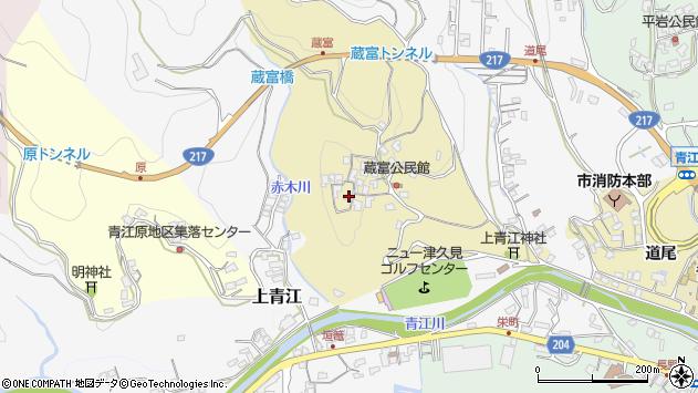 大分県津久見市上青江3200周辺の地図