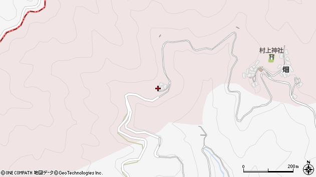 大分県津久見市上青江405周辺の地図