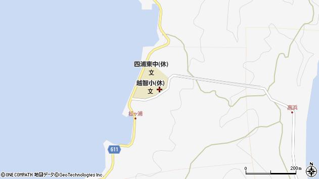 大分県津久見市四浦5893周辺の地図