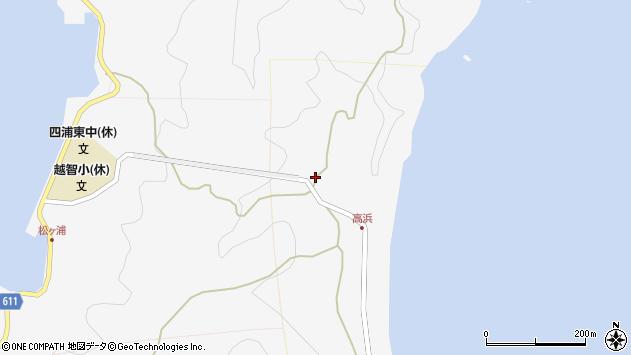 大分県津久見市四浦6340周辺の地図