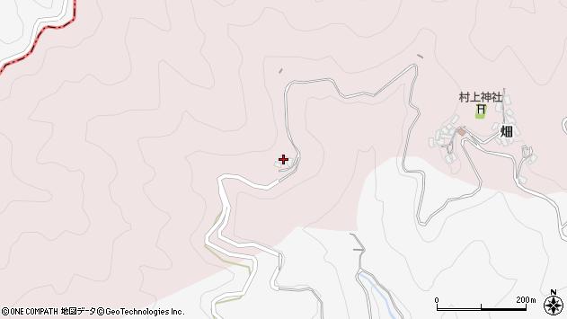 大分県津久見市上青江404周辺の地図
