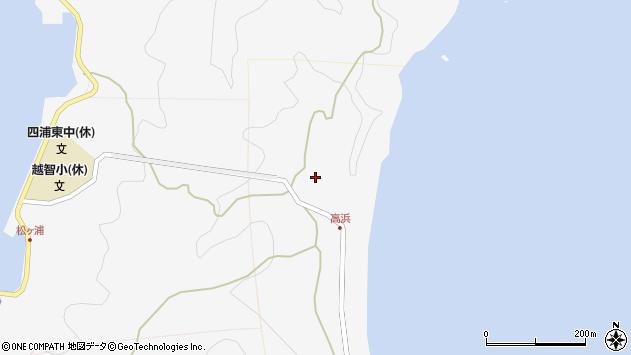 大分県津久見市四浦6371周辺の地図