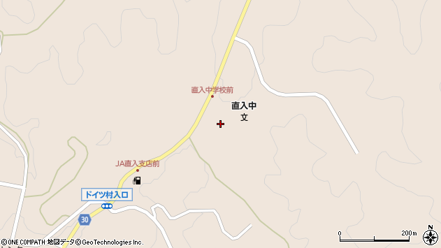大分県竹田市直入町大字長湯8518周辺の地図