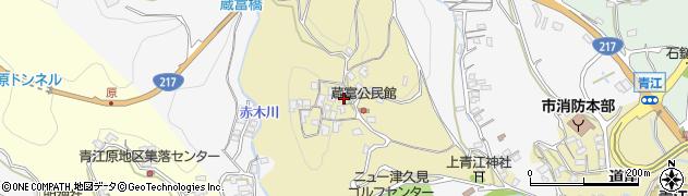 大分県津久見市上青江3219周辺の地図