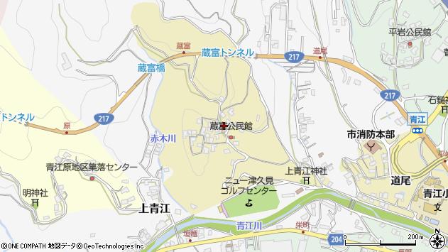 大分県津久見市上青江3218周辺の地図