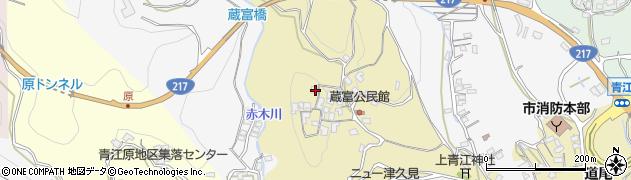 大分県津久見市上青江3209周辺の地図