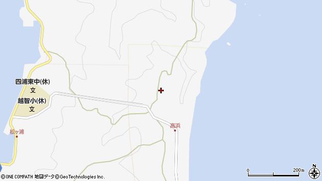 大分県津久見市四浦6262周辺の地図