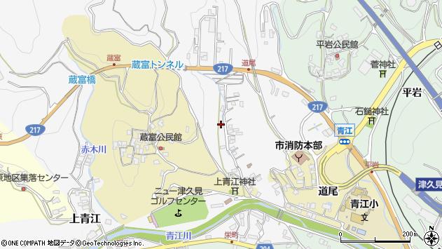 大分県津久見市上青江3327周辺の地図