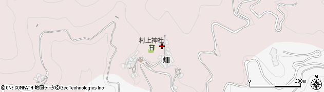 大分県津久見市上青江1028周辺の地図
