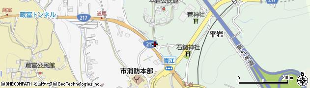 大分県津久見市上青江4133周辺の地図