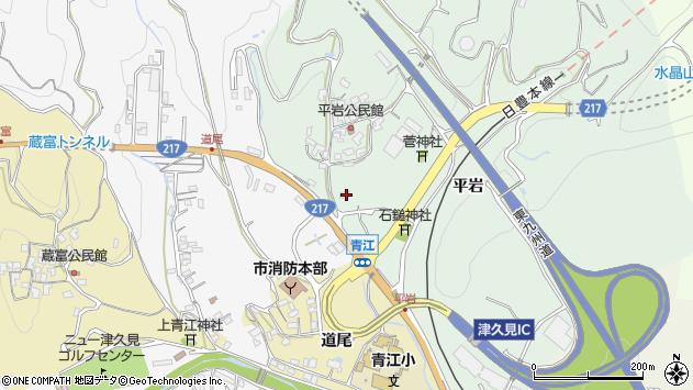 大分県津久見市上青江4040周辺の地図