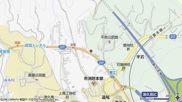 大分県津久見市上青江4112周辺の地図