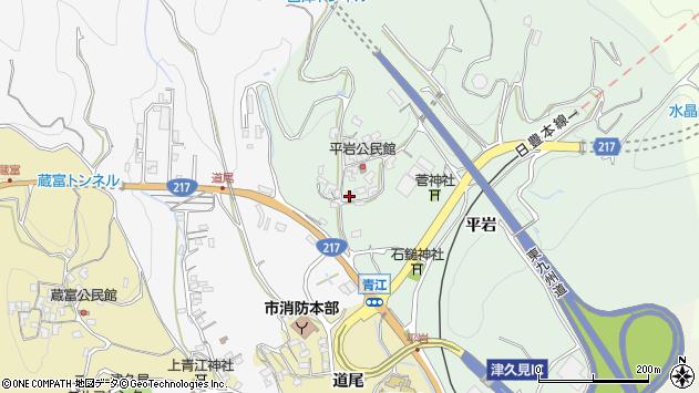 大分県津久見市上青江4045周辺の地図